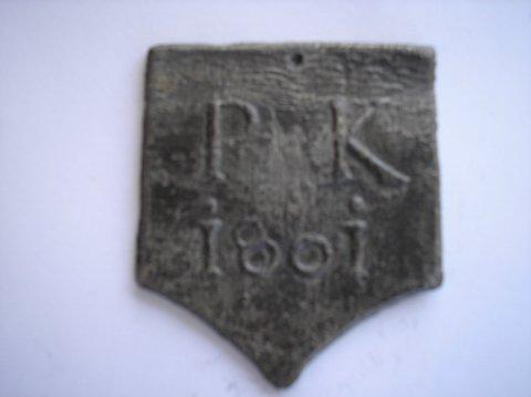 Naam: Pieter KeunPlaats: HaarlemJaartal: 1801Boek: Steijn blz 39
