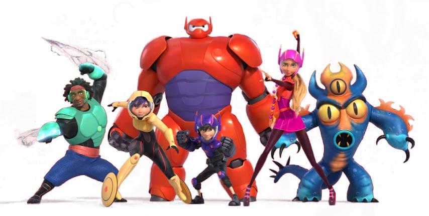 big-hero-6-baymax-pelicula-animacion-dibujos-animados-niños