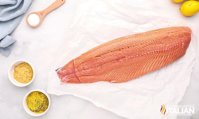 smoked salmon ingredients