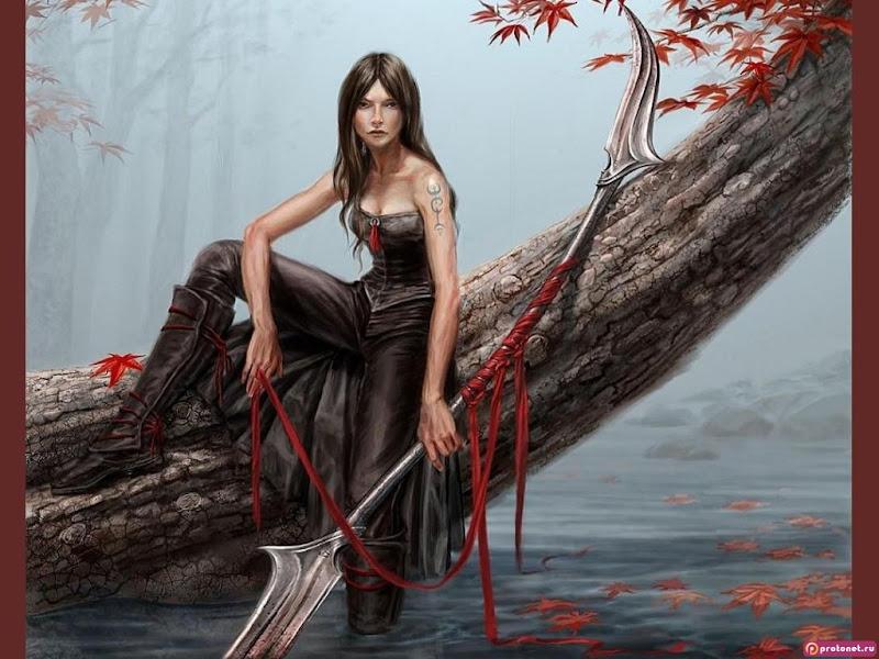 Autumn And Magic Beauty, Warriors