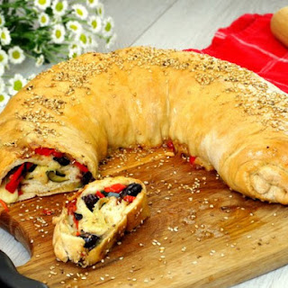 Vegetable Pizza Roll