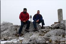Recuenco mendiaren gailurra 1.241 m. -- 2016ko apirilaren 9an