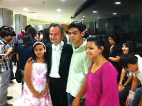 MozART group with fans in Ciudad Juarez