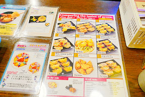 Namja Town has an area that is their Gyoza Stadium with a dozen little booths of different pot stickers, or gyoza, to try. You can go to the counter and on the laminated menus there there is one that is English. I recommend walking around to compare your optios before you choose.