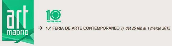 Feria de Arte Contemporáneo Art Madrid15, en CentroCentro Cibeles
