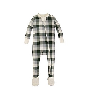burts bees plaid sleeper