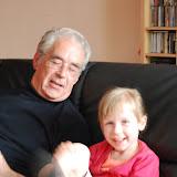 Gezellig bij opa