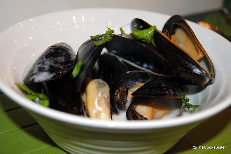 how to cook steamed mussels