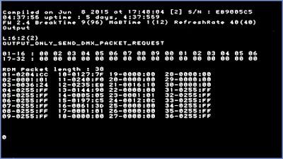 Raspberry Pi DMX USB Pro (mode 2)