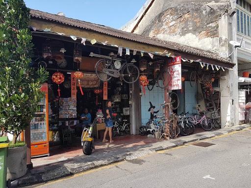 Vintage store at Lebuh Armenian Georgetown Penang