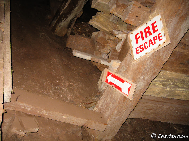 Multiple escape-ways were found in the mine.