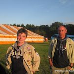 Intercamp 2009: Freitag: Ankunft, Aufbau