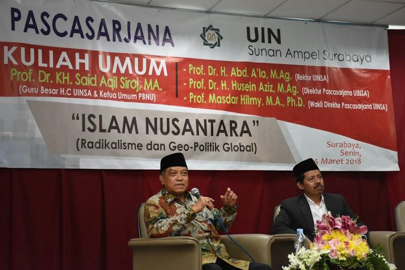 Ketum PBNU: Islam Nusantara Bukanlah Anti Arab, Tapi Islam Yang Santun Dan Berbudaya