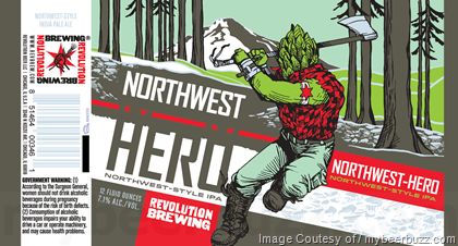 Revolution - Eugene Robust Porter, Anti-Hero IPA, Northwest Hero, Denali Hero, A Little Crazy, Fistmas, Death's Tar, Double Barrel V.S.O.D. & Bottom Up