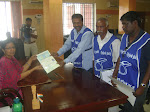 Nomination filing - Karunakaran - Trichy