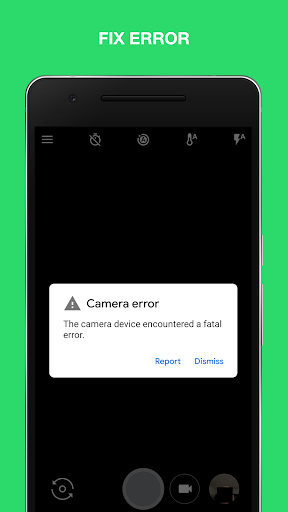 Camera Error Fix - Quick fix 10.1 screenshots 3