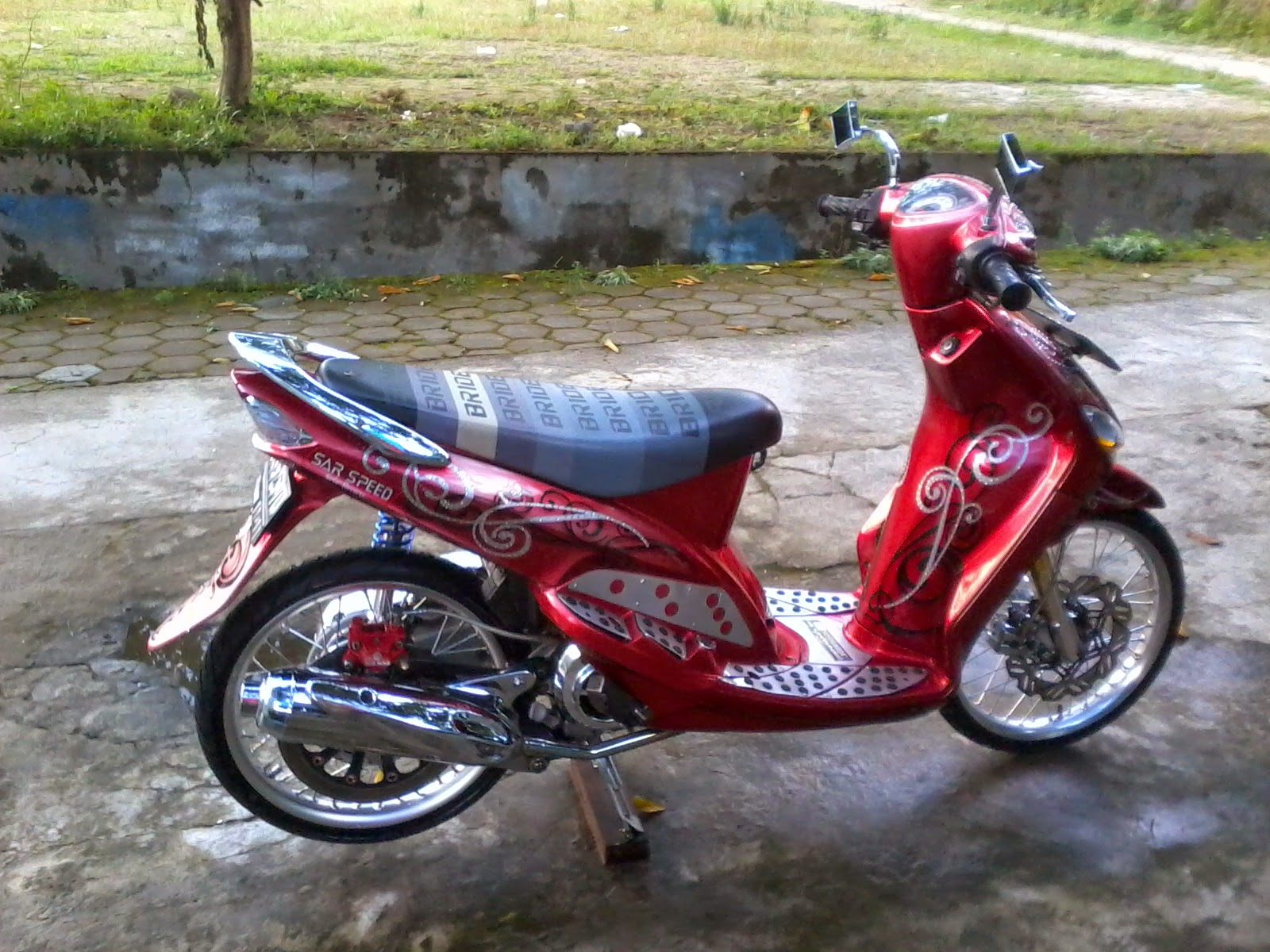 Mio J Modifikasi Velg 17