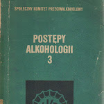 """""""Postępy alkohologii 3"""", Społeczny Komitet Przeciwalkoholowy, Warszawa 1980.jpg"""