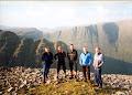 Steve,Stu, Andy, Chris, Tony Sgurr a'Chaorachain. Applecross. 1999 ish ?