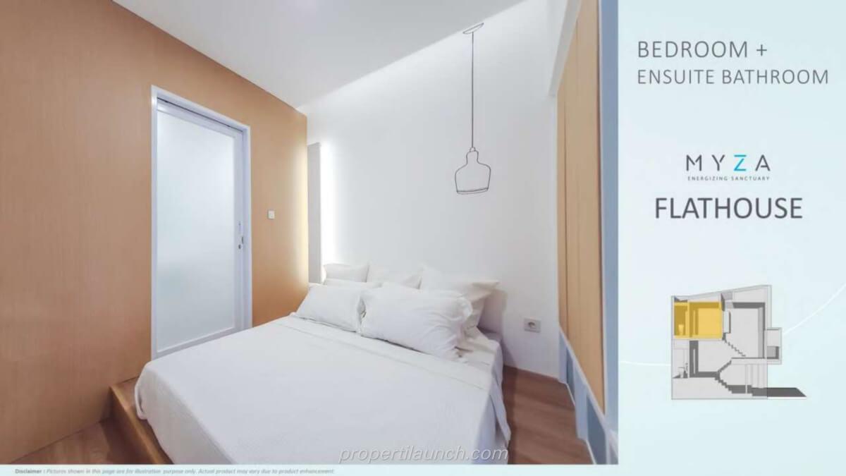 Rumah Myza BSD - Master Bedroom