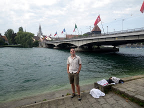 so there I once stood, on the banks of the mighty Rhein!