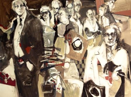 Men of the House. Artist Carla O'Connor, AWS-df/NWS