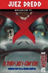 Actualización 13/09/2017: Gracias a la séptuple alianza de HTAL, CRG, Outsiders, Prix, LLSW, Gisicom y AT-Comics, conocida como The Drokkin Project, les traemos el Volumen 68 de Judge Dredd - Mecanismo – Parte 2 tradumaquetado por Darkvid y mastergel.
