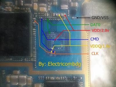 ISP PinOut Samsung GT-N7105
