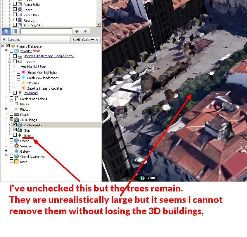 Cannot Remove Trees In 3d Buildings Layer Google Terkep Sugo