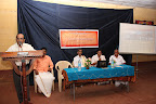 Sri V.N. Jithendran, IAS (District Collector, Kasaragod) delivering the inaugural address