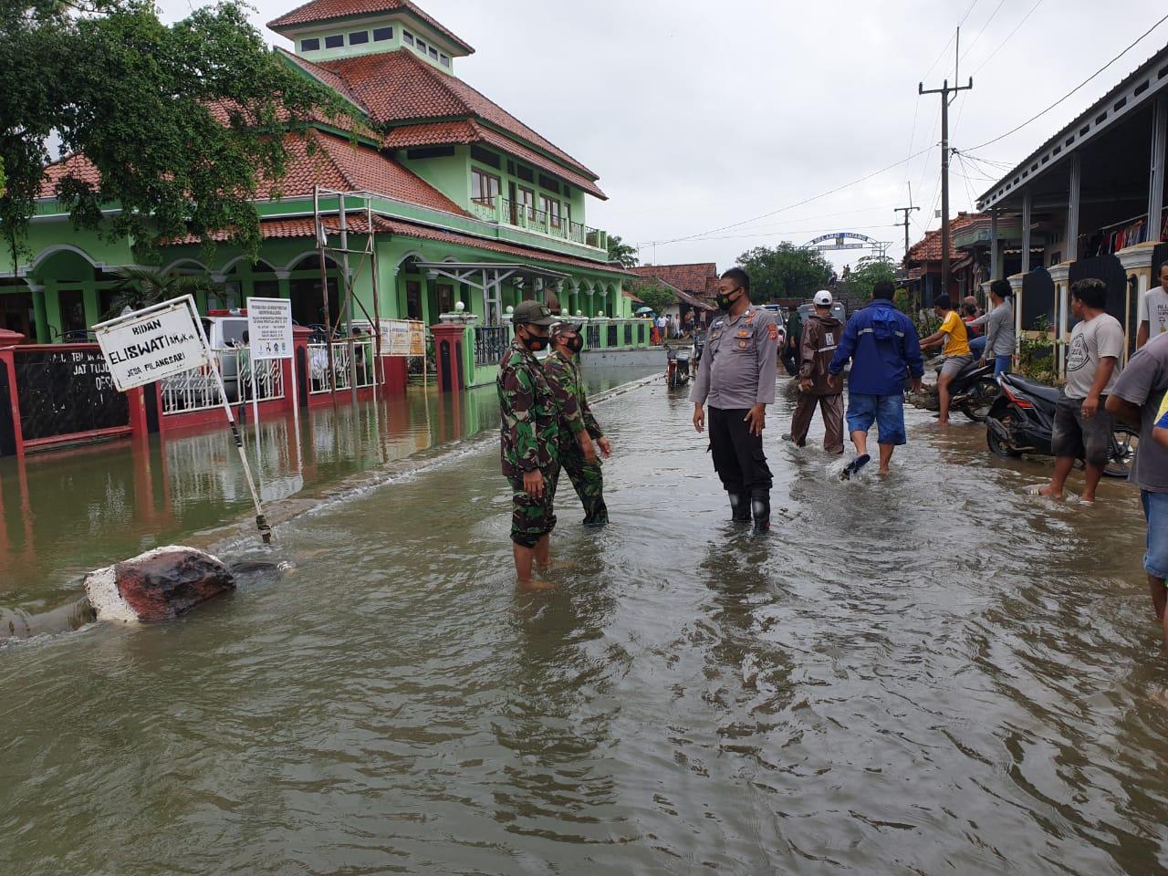 Kapolres Majalengka Menghmbau Masyarakat Waspada Banjir