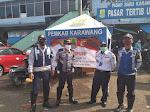 Jalan Tuparev Sudah Dibuka ,Petugas Dishub Karawang Dipindahkan Tugaskan Berjaga di Pusat Perbelanjaan