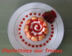 Recette des petites charlottes aux fraises
