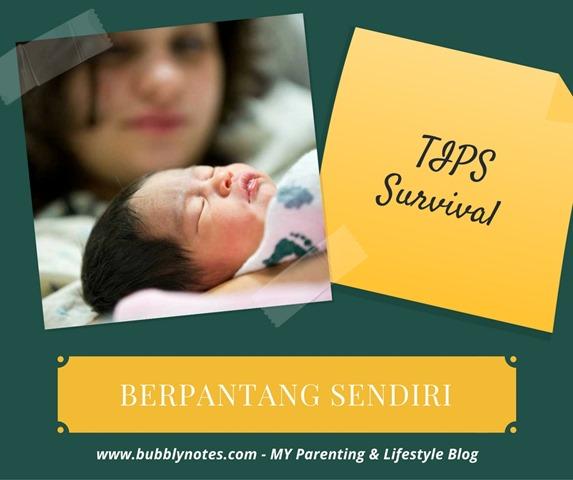 TIPS_SURVIVAL BERPANTANG SENDIRIAN
