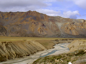 Dry Himalayan Landscape, India