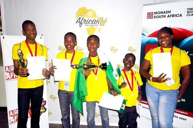 Deeper life student and Sheriff Muhammad Wins African Spelling Bee Champion Title (Photos)