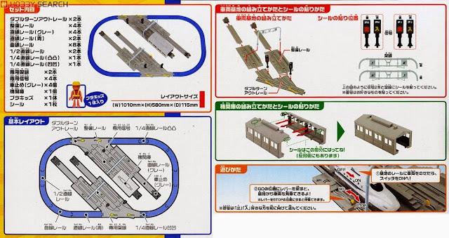 Đường ray và Sân ga tàu hỏa rất dễ chơi và dễ sử dụng