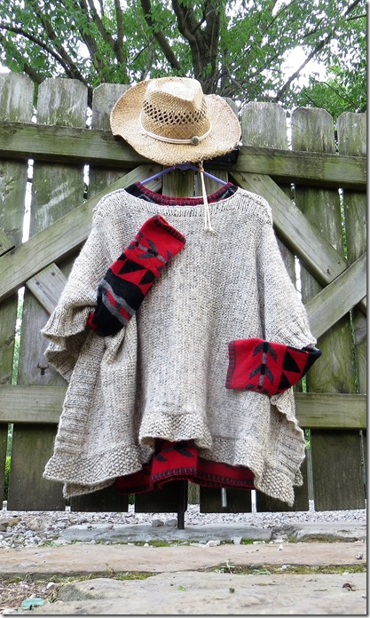 High Plains Knitter Poncho