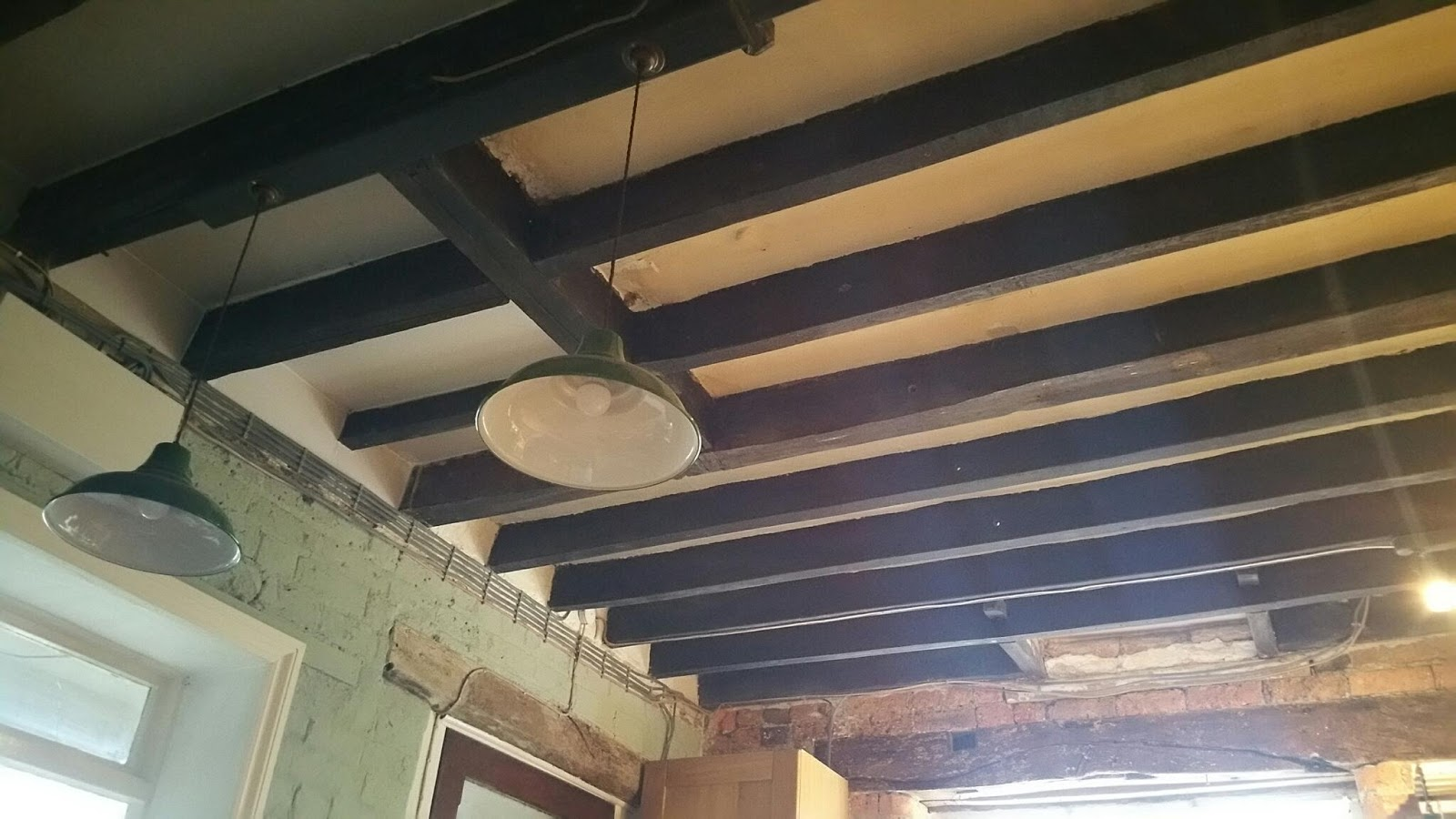 How To Plasterboard A Ceiling Between Beams Integralbook Com