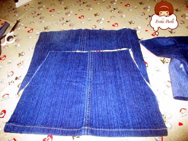 b942ca5ab0 Cortan dejando dos centímetros y luego cosen los lados y luego hacer la  basta.