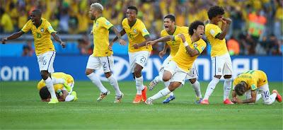 Brazil singkir Chile dengan penalti