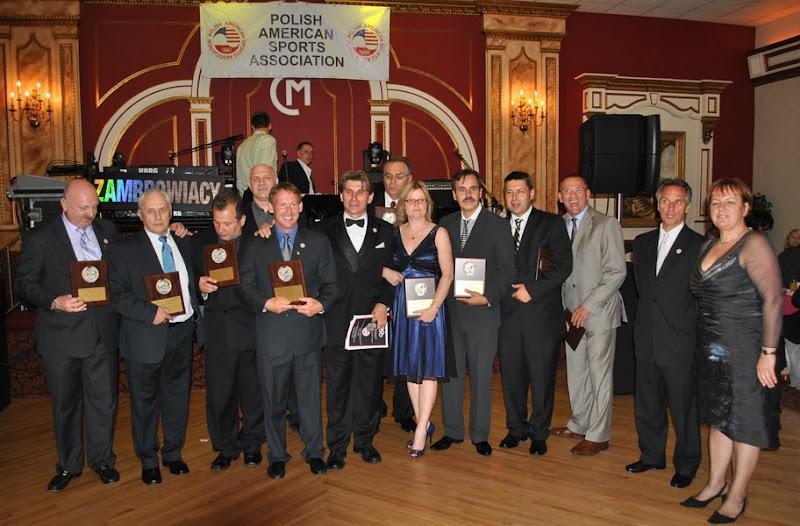 Zasluzeni trenerzy PASA wyroznieni podczas Balu Sportu - 2010 rok.