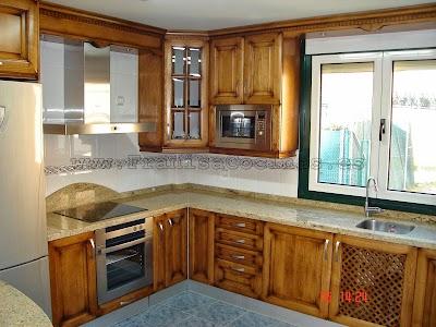 Muebles De Cocina En Madera. Good Cocina Clsico Castellano With ...