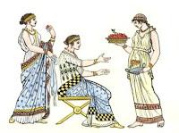 καρυκεύματα,Νωγαλεύματα, μπαχαρικά, γυναίκες τρώνε,spices, Nogalefmata, spices, women eat,