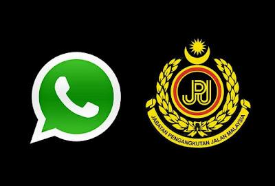 Talian WhatsApp Untuk Melaporkan Kesalahan Jalan Raya Dilancarkan oleh JPJ