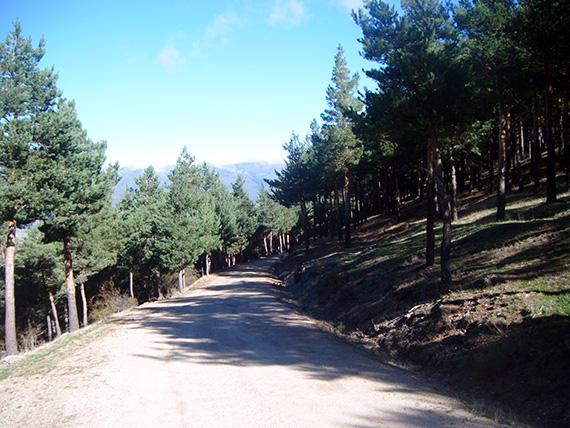 Ruta de Colmenar Viejo al puerto de Cotos. Octubre 2012