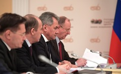 Vladimir Putin. Meeting at the Makeyev State Rocket Centre.
