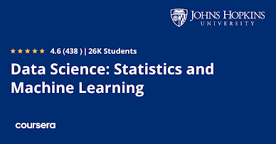 Best Data Science and Machine Learning Course from Johns Hopkins