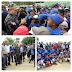 Policía Nacional y Ayuntamiento SDN realizan encuentro deportivo junto a estrellas de las Grandes Ligas
