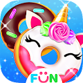 Cook Donut Maker - Unicorn Food Baking Games APK